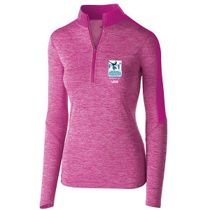 2018 Pacific Coast Sectional Figure Skating Championships Ladies Electrify 1/2 Zip Pullover
